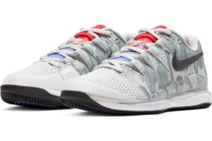 nike-court air zoom-dames-zilver-aa8027-009-zilveren-sneakers-dames