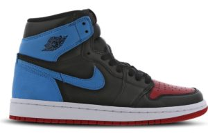 nike-jordan air jordan 1-dames-zwart-cd0461-046-zwarte-sneakers-dames