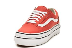 vans-old skool-dames-rood-vn0a4u1ext11-rode-sneakers-dames