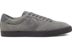 converse-perforated suede checkpoint pro low top-dames-grijs-167614c-grijze-sneakers-dames