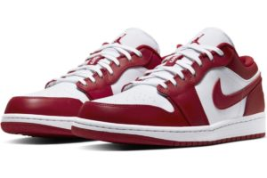 nike-jordan air jordan 1-heren-rood-553558-611-rode-sneakers-heren
