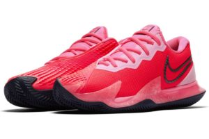 nike-court air zoom-dames-rood-cd0432-604-rode-sneakers-dames