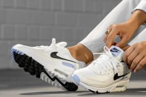 Nike Air Max 90 Dames Wit Cz6221 100 Witte Sneakers Dames