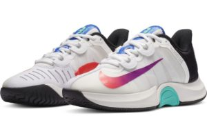 nike-court air zoom-dames-wit-ck7580-112-witte-sneakers-dames