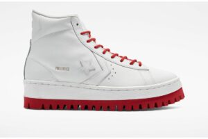 converse-pro leather-dames-rood-172332c-rode-sneakers-dames